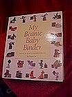 My Beanie Baby Binder, collectors inventory & info