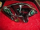 Art glass handkerchief bowl, Barbara's Impressions 197