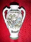 Norcrest, Souvenir vase from Nevada, bluebird