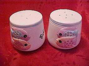 Bahamas,salt and pepper shakers, tropical fish