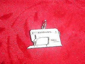 Old singer sewing machine charm, for bracelet