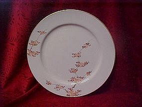 Fukagawa Arita china salad plate, Maple pattern 505