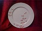 Fukagawa Arita china salad plate, Maple pattern 505