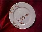 Fukagawa Arita china dinner plate, Maple patttern 505