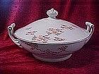 Fukagawa Arita , Covered casserole, Maple pattern  #505