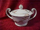 Fukagawa Arita , sugar bowl  w/lid, Maple pattern #505