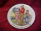 "Csatari Grandparent plate 1986, ""The home run"""