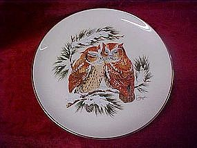 "Gunther Granger's Four Seasons plate, ""Warmth"""