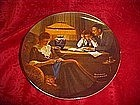 "Rockwell's Light Campaign series, ""Fathers Help"" plate"