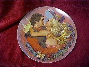 Hoyle collector plate, Moonlight romance
