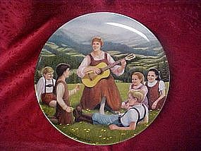 Do-Re-Mi, collector plate, The sound of Music