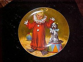 Tommy the clown, McClleland Children's Circus plate