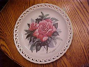American Heritage, The American rose garden, plate