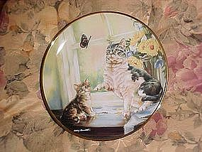 Flight of Fancy, by Leslie Hammett, Franklin mint plate