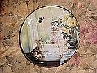 Flight of Fancy, by Leslie Hammett, Franklin mint plate