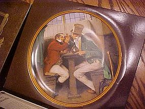 Clinching the deal, Rockwell's Colonials, Knowles