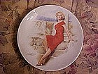 Marilyn Monroe ,in Niagra, Delphi Collector plate