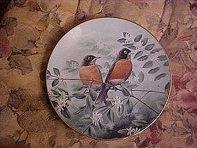 Afternoon Calm, A treasury of Songbirds series, bird