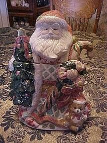 Large Father Christmas, Santa, cookie jar