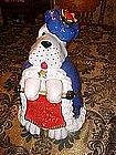 Royal treat cookie jar, The Royal cookie hound