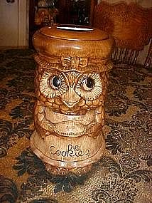 Treasure craft, Mrs. Owl cookie jar