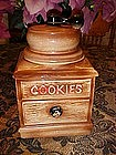 Coffee Grinder cookie jar by McCoy USA