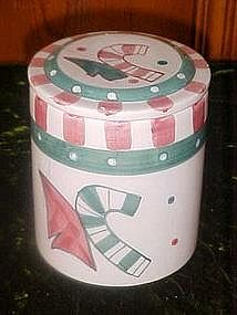 Christmas treat / cookie jar