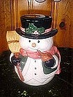 Frosty the Snowman cookie jar