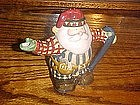 Lumberjack Santa cream pitcher by Sakura