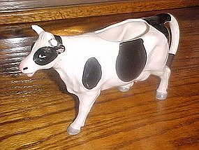 Realistic holstien cow creamer