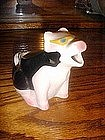 California Cow milk pitcher, wears sunglasses