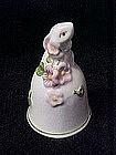 Avon bunny rabbit bell, 1984 Weiss Brazil