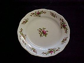 Traditions, Moss Rose bread butter plate by Haviland