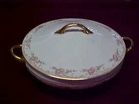 Covered caserole by Cleveland China, pattern A23