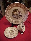 Triumph, American Limoges Serenade dinner pieces