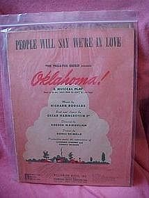 People will say we're in love, music from Oklahoma