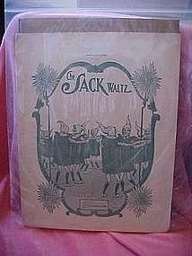 The Sack Waltz by John Metcalf, sheet music 1909