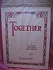 Together, sheet music, DeSylva Brown & Henderson