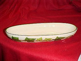Franciscan Ivy pattern, Cracker or celery bowl