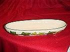 Franciscan Ivy pattern, Cracker or celery bowl