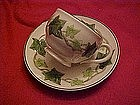 Franciscan Ivy pattern cup with saucer set