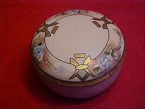 RS Germany  hand painted, deco style  dresser jar