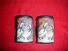 Metal ,Geese pattern salt and pepper shakers