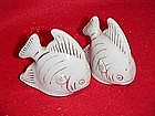 Angelfish salt and pepper shaker set