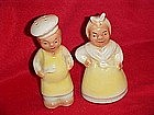 Light skin Black Mammy & Chef salt and pepper shakers