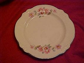 Homer Laughlin Virginia rose bread and butter plate