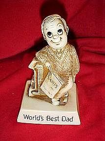 Berries sillisculpt sentiment figure, World's best Dad