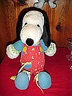 Peanuts Snoopy learning doll