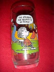"Camp Snoopy, ""The struggle for security is no picnic"""