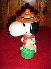 Peanuts, Camp Snoopy bubble bath container